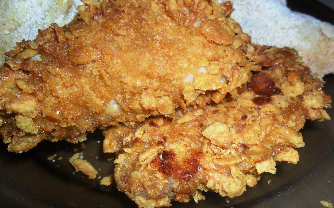 Paprykowy kurczak panierowany z piekarnika