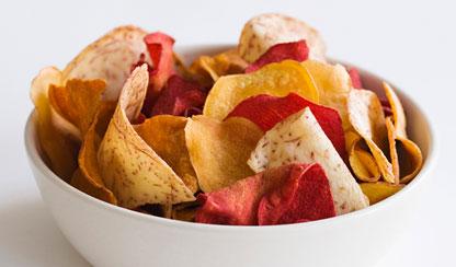 Chipsy warzywne